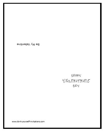 printable valentines day cards templates