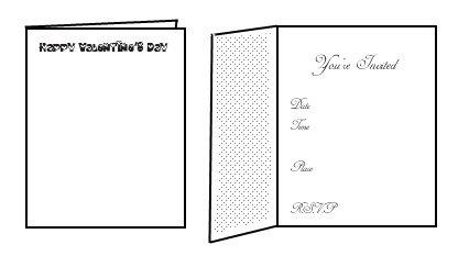 free printable valentine invitations